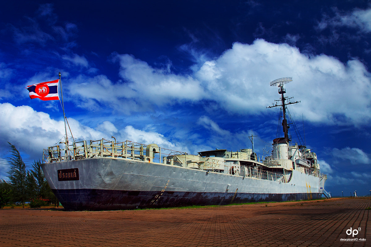 Photograph Battle ship of Thailand by Wisarut Thammathatto on 500px