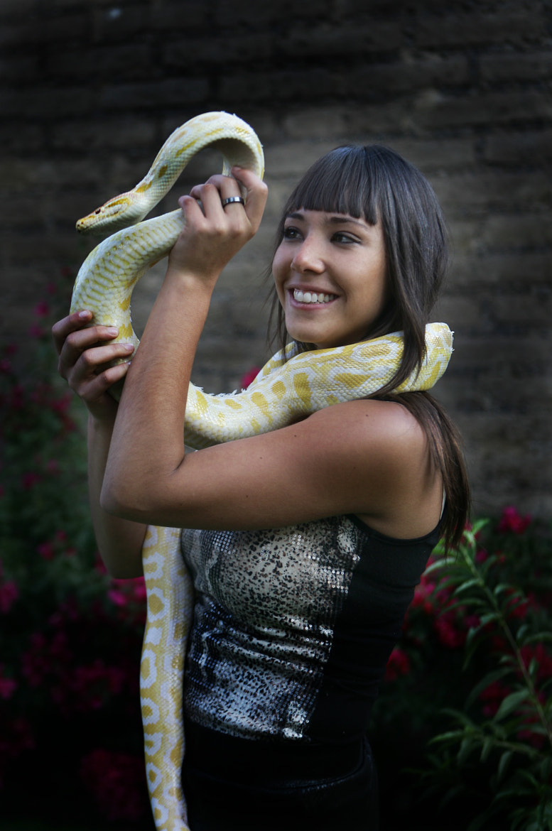 Photograph young lady and snake by Cristobal Garciaferro Rubio on 500px