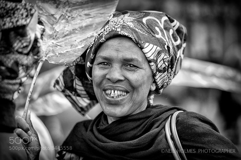 Photograph A Smile lifts the Heart by Neil Holmes on 500px