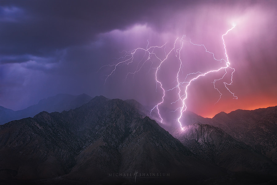 Photograph Thunder Mountain by Michael Shainblum on 500px