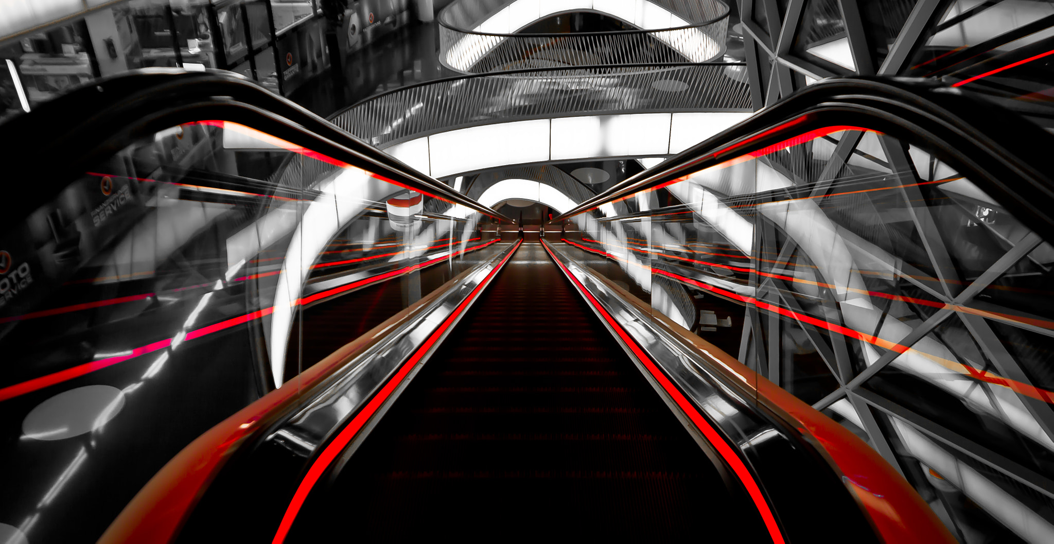 Photograph Escalator by Julian Wagner on 500px