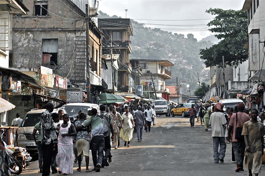 Freetown Streets by Meredith Chandler on 500px.com