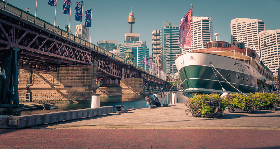 Photograph Darling Harbour Sydney by Singha Mahawannasri on 500px