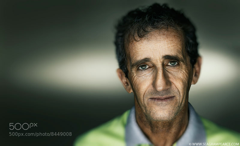 Photograph Alain Prost by Seagram Pearce on 500px