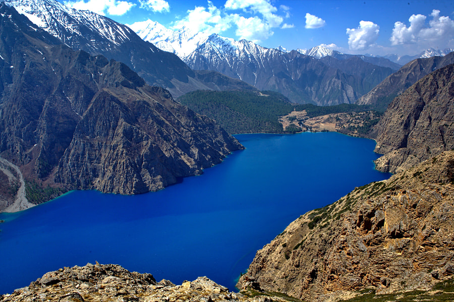 hoksundo Lake, Dolpa by Dewan Rai on 500px.com