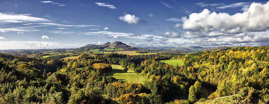 Photograph Scott's View - St Boswells, Scottish Borders by Steve Talas on 500px