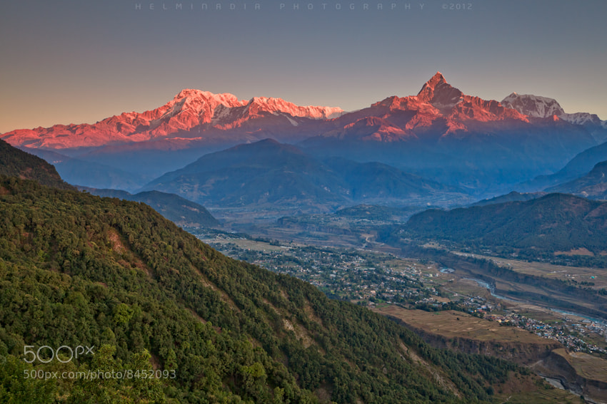 Photograph Sunrise at Pokhara by Helminadia Ranford on 500px