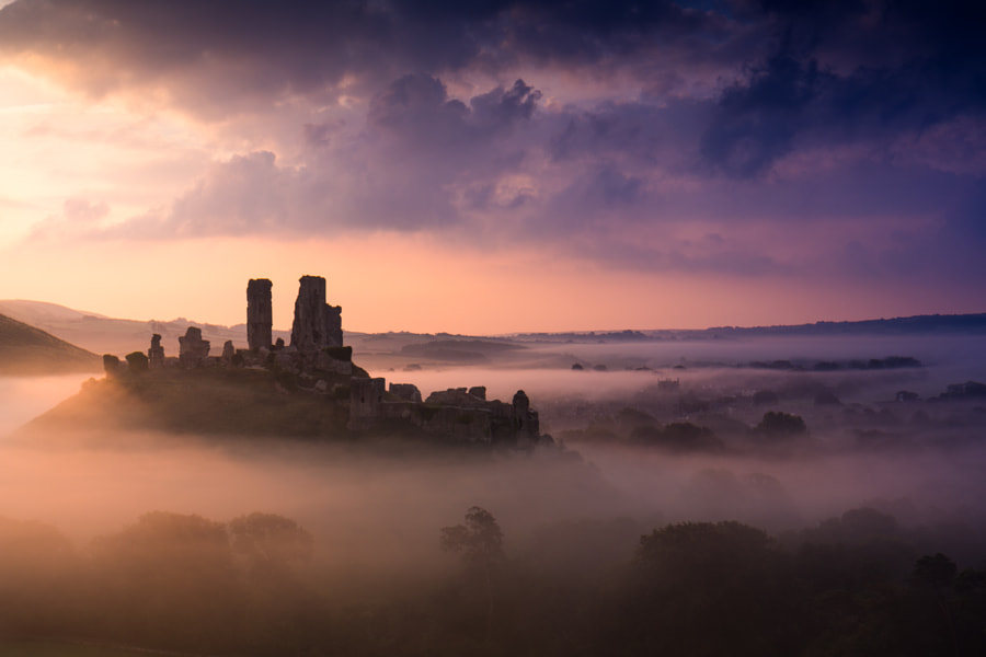 Misty Sunrise by Alex Harbige