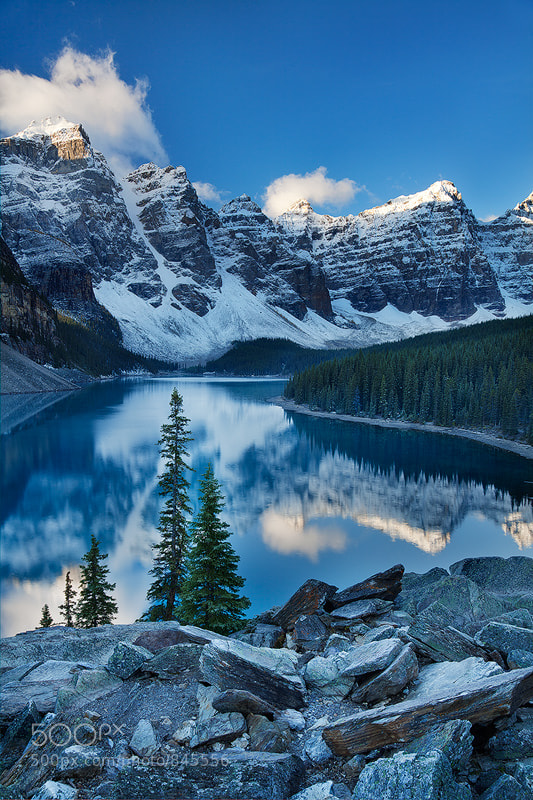 Photograph Valley of the Ten Peaks by Sarah Marino on 500px