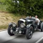 Постер, плакат: UU 5872 A classic and historically important BENTLEY Blower at the 2014 Mille Miglia