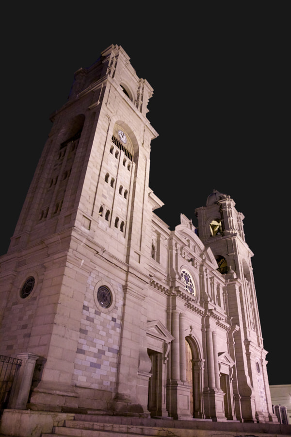 Cathedral of Tacna by Guillermo Hugo Gamero Osorio on 500px.com