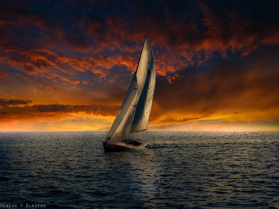 Photograph The Final Sail by Meagan V. Blazier on 500px