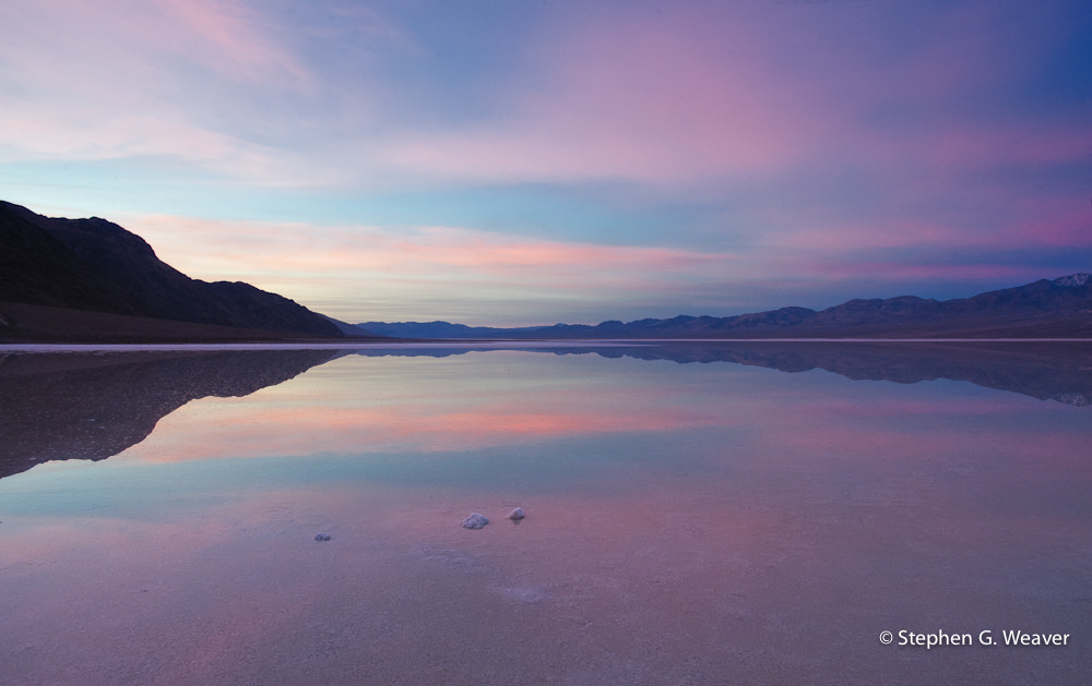 Photograph Death Valley Sunrise Reflection by Stephen Weaver on 500px
