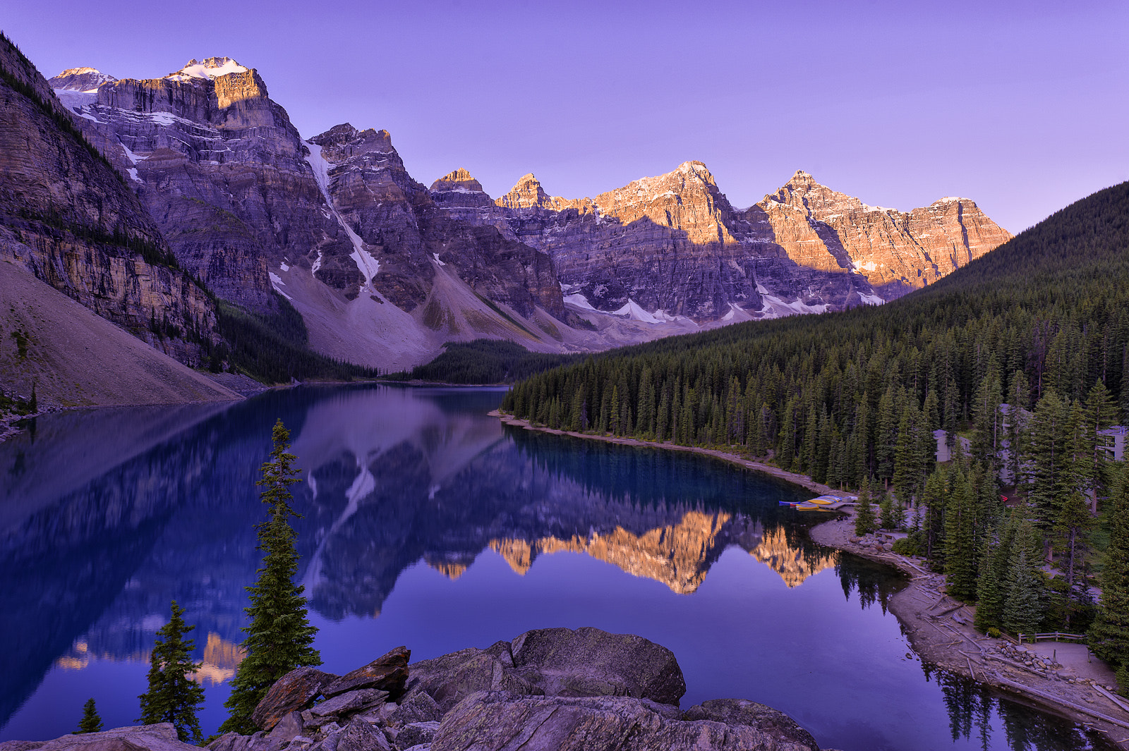 Photograph Moraine Lake by Wil Bloodworth on 500px