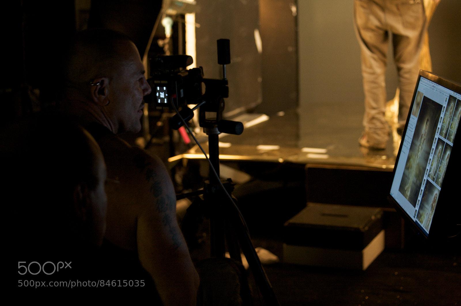 Thierry Mugler - BTS Alien 2008