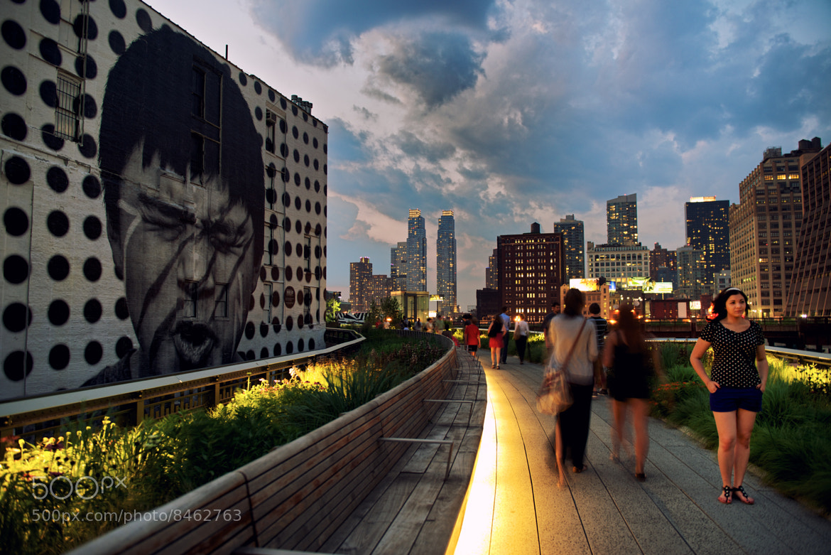 Photograph JR's Inside Out Project on the High Line by Josh Rubin on 500px