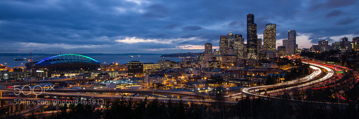 Photograph Seattle at Sunset by Neal Fedora on 500px