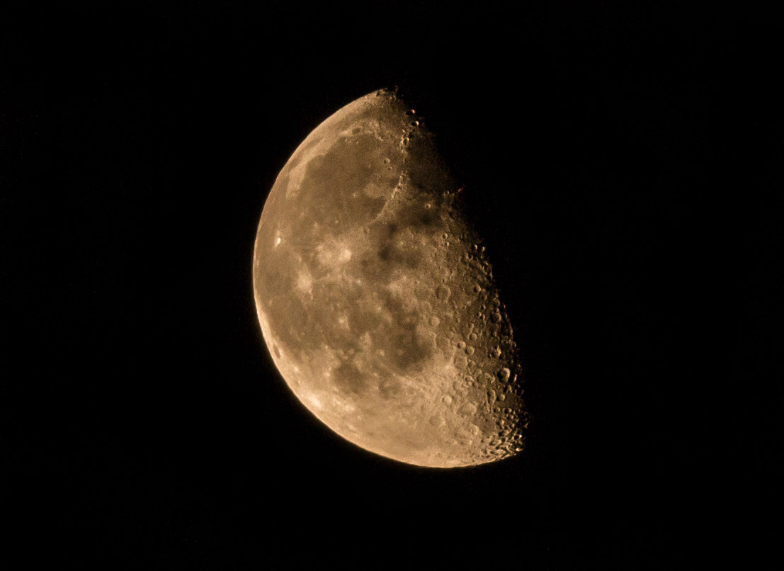 Photograph Waning Gibbous by D Dashti on 500px