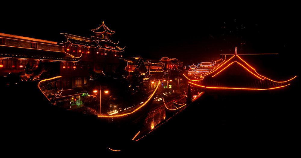 Photograph Chengdu by night by Viet Hung on 500px