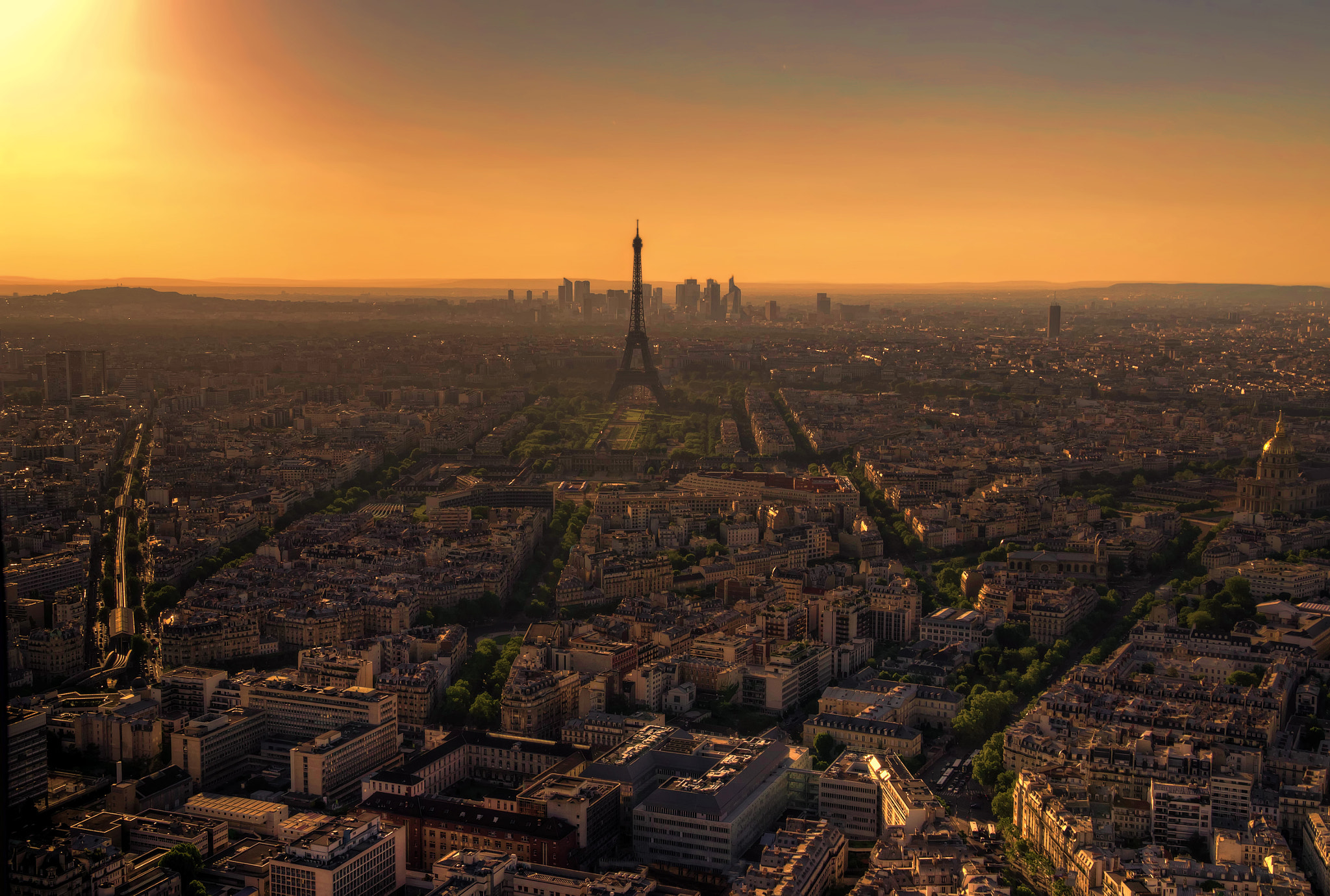 Photograph Sunset in Paris by Filippo Bianchi on 500px