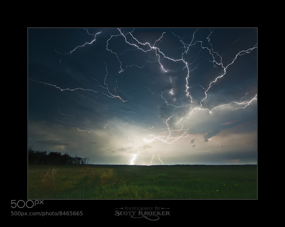 Photograph Just Some Lightning by Scott Kroeker on 500px