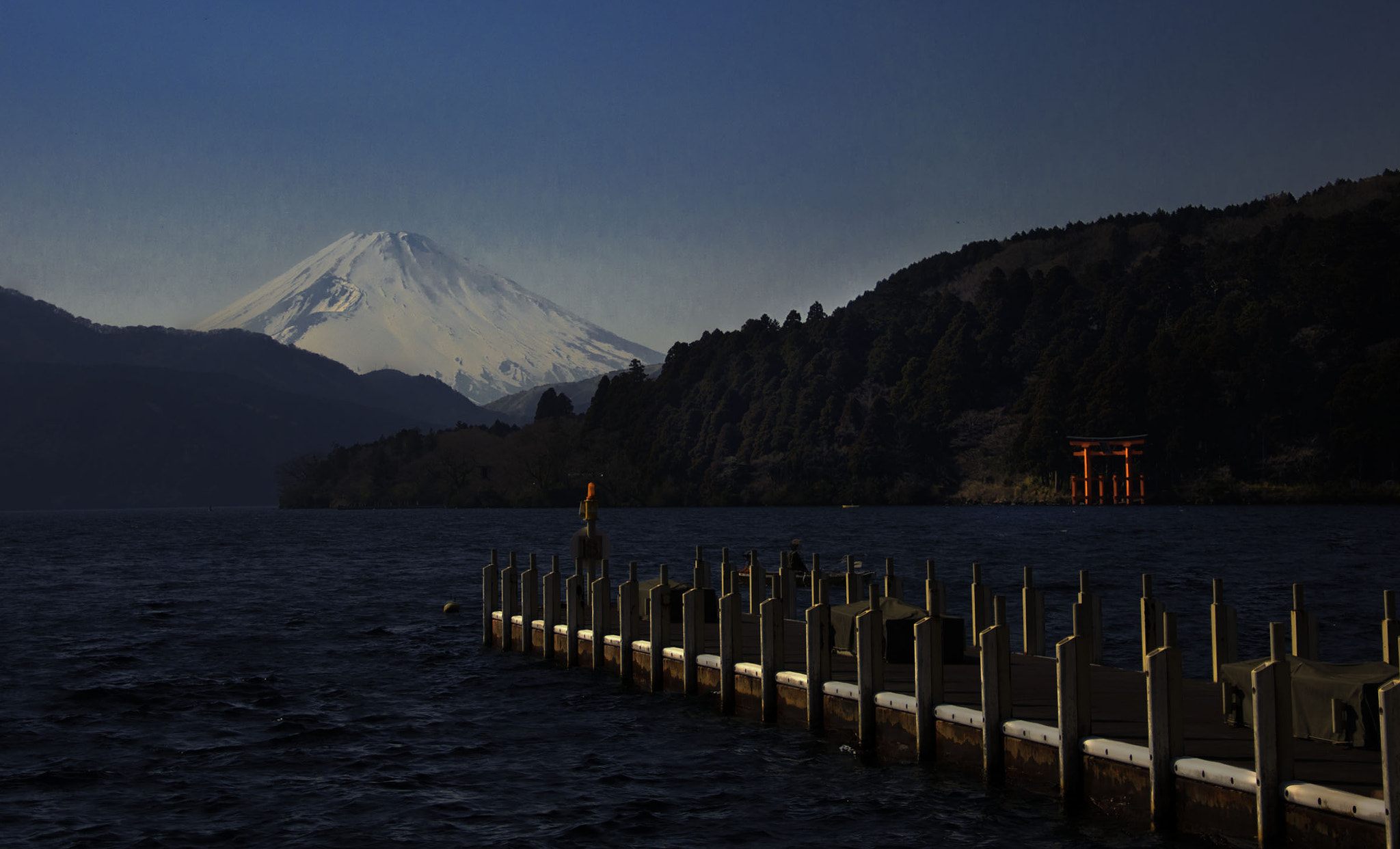 Photograph Mt Fuji from the No. 8 Pier by Alicia Holston on 500px