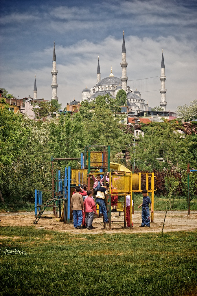 Photograph Playground, Istanbul, 2005 by Ren Bostelaar on 500px