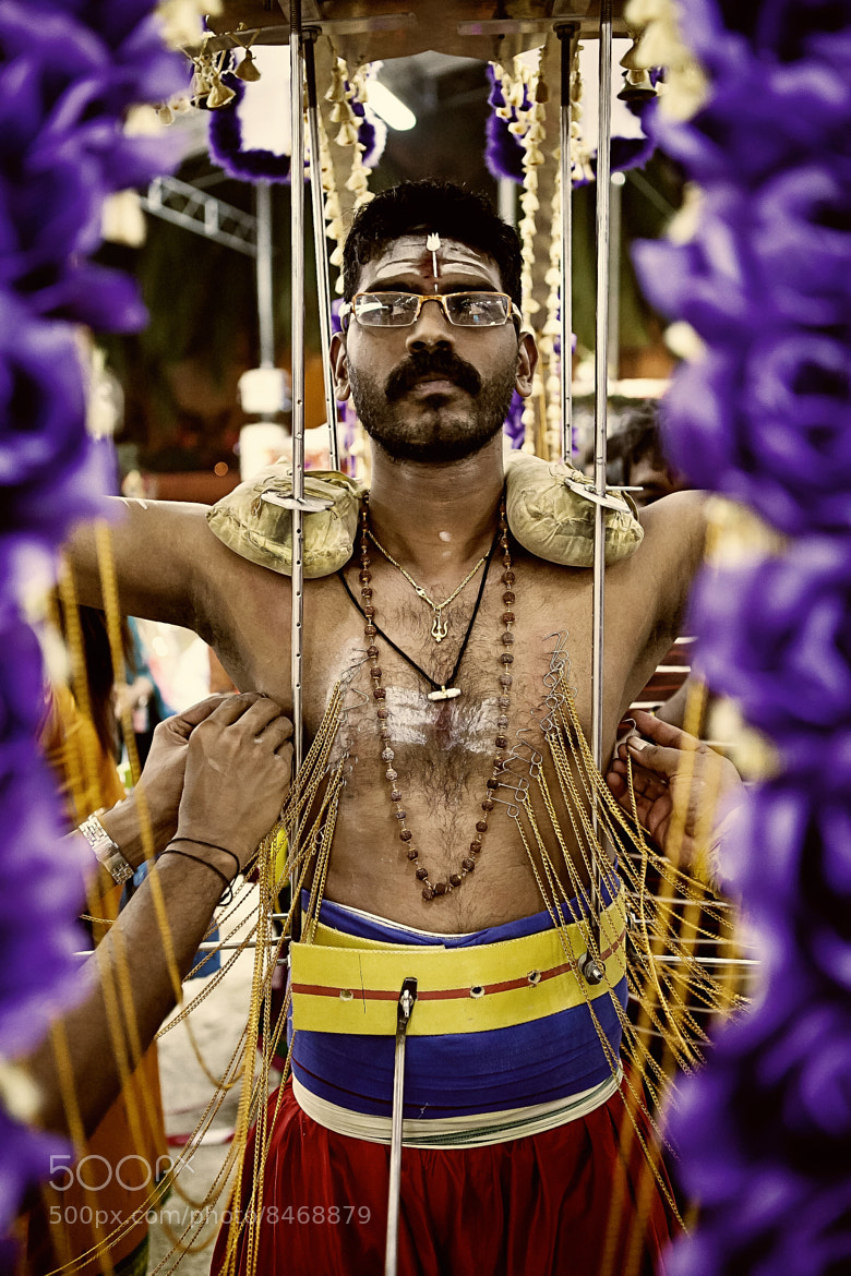 Photograph Kavadi Bearer by Spencer Tan on 500px
