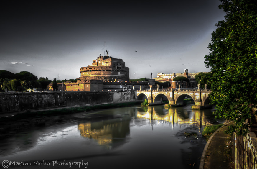 Photograph Il Tevere by Marino Modio on 500px