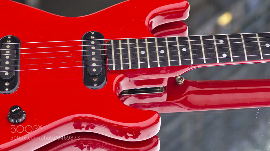 Photograph Guitar by Rick Wezenaar on 500px
