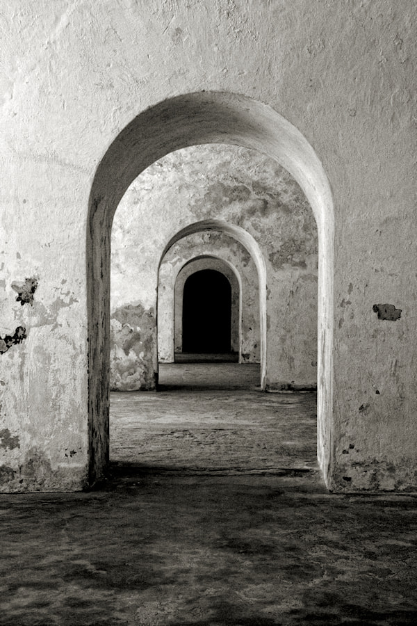 Photograph Arches at El Morro by Carlos Gotay on 500px