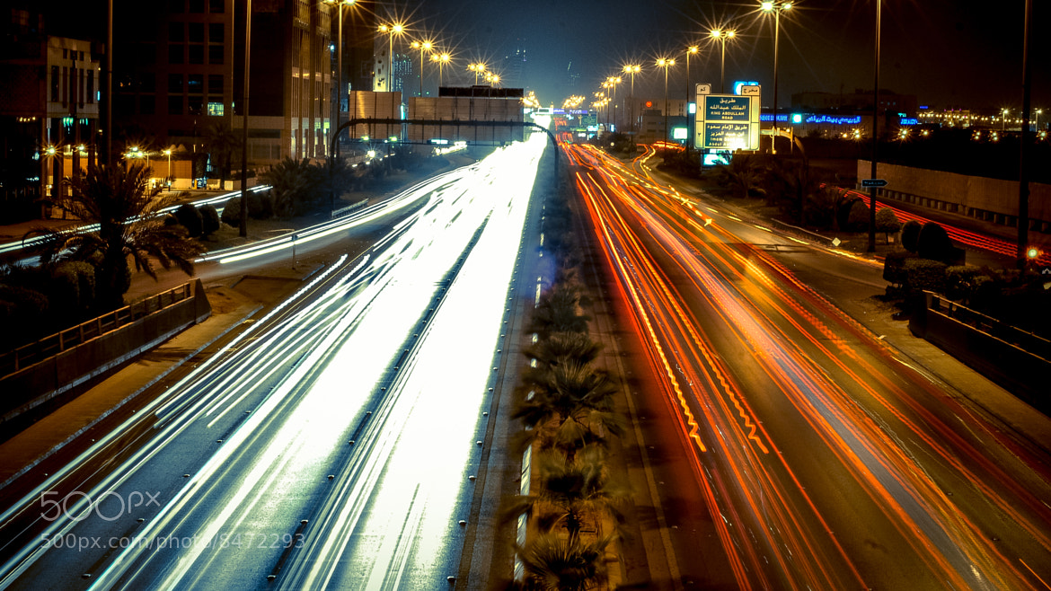 Photograph King Fahad Road by Joe Crowman on 500px