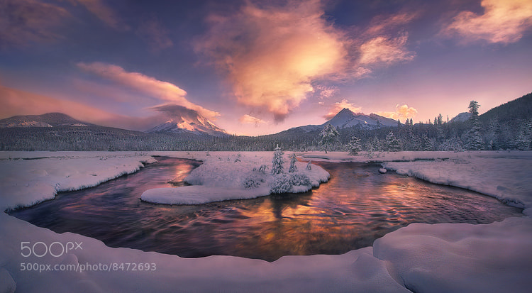 Photograph Rare Morning by Marc  Adamus on 500px