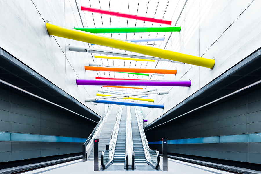 Photograph Lines by Philipp Götze on 500px