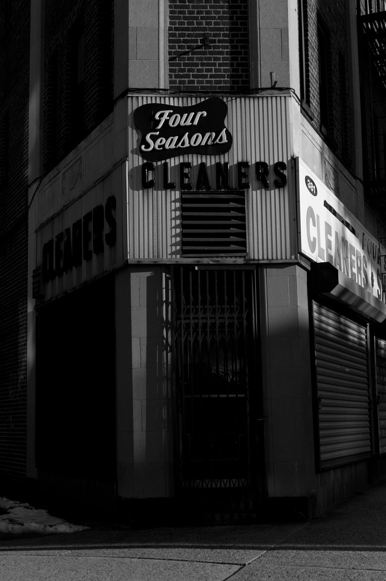 Photograph Four Seasons Cleaners by Nathan Dell-Vandenberg on 500px