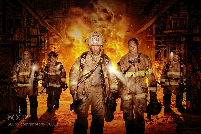 Photograph Firefighters by Ralf Mack on 500px