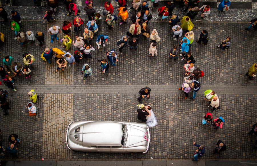 Wedding from the above by Goran B on 500px.com