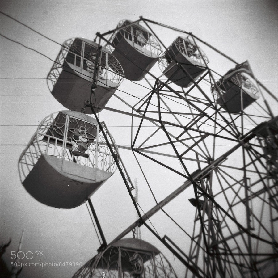 Photograph Amusement Park by Siripong Travels on 500px