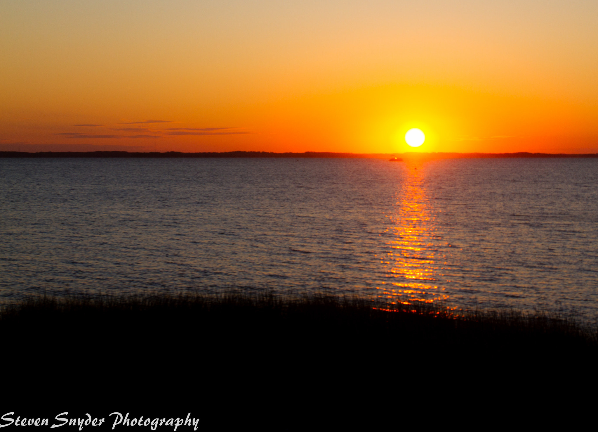Photograph Sunset on the Sound by Steven Snyder on 500px