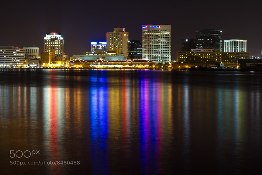 Photograph Downtown Norfolk in 30 Seconds by Tyler Scrivner on 500px