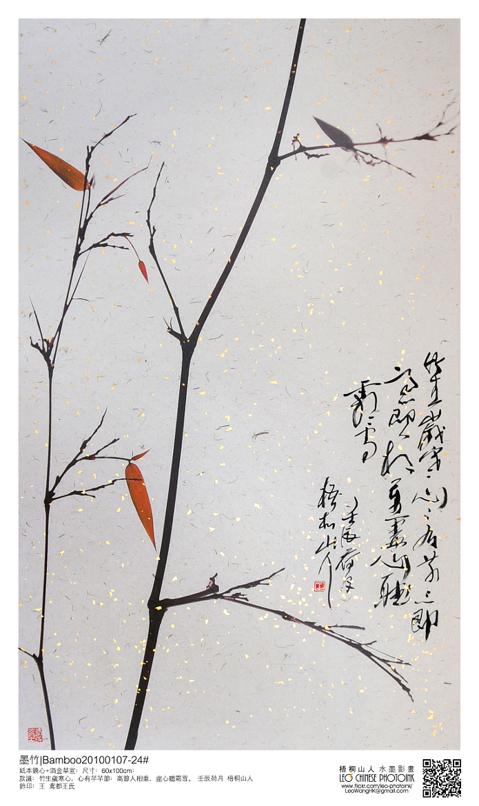 Photograph 墨竹 Bamboo20100107-24#  by Leo Wang on 500px