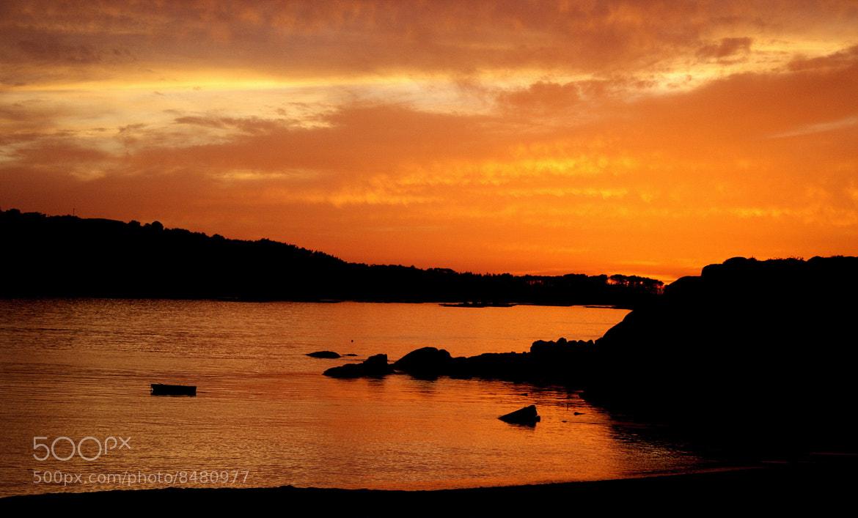 Photograph El anocher anaranjado by Raquel Camurasiquel on 500px