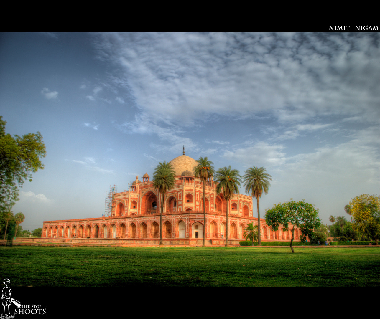 Photograph Humayun's Tomb... by Nimit Nigam on 500px
