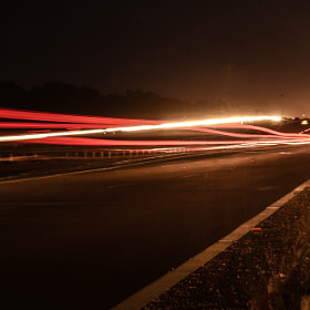 Line of lights by Kumaran Shanmugam (KSphotos)) on 500px.com