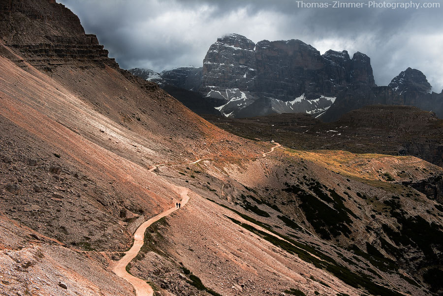 Photograph The Path to the Tre Cime by Thomas Zimmer on 500px