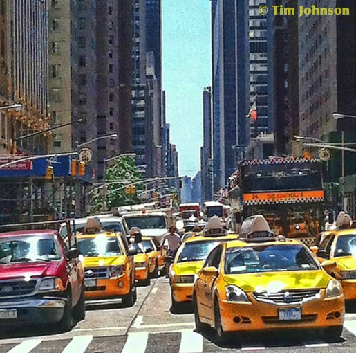 Photograph Sixth Ave, NYC by Tim Johnson on 500px