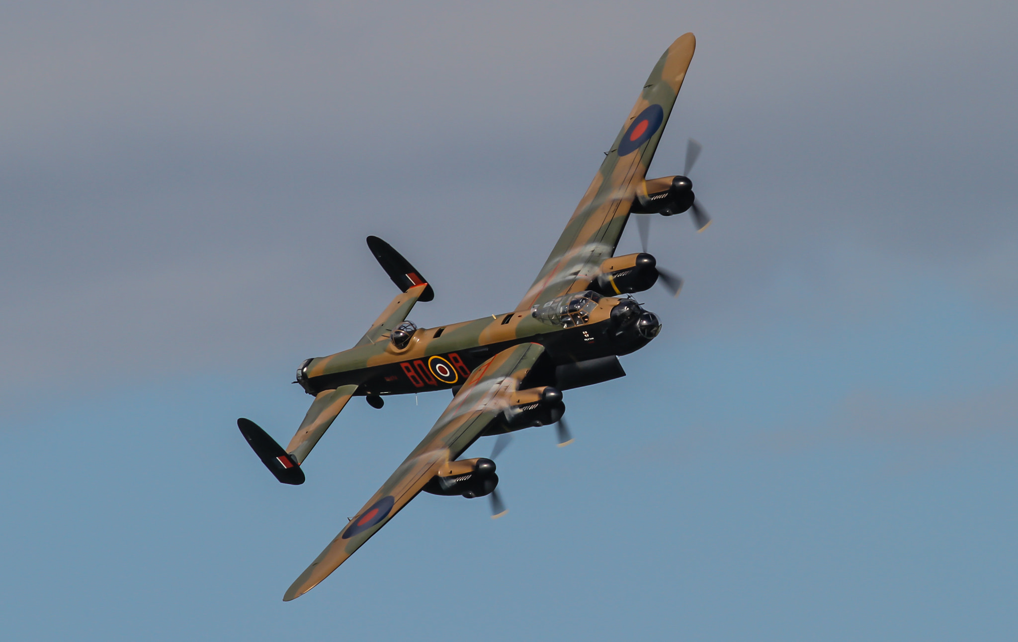 Photograph Avro Lancaster 2 by Andrew Wickens on 500px
