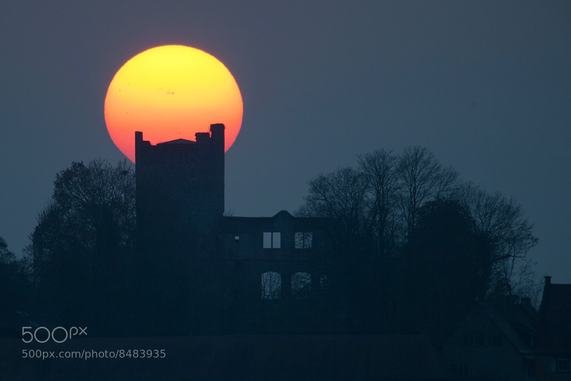 Photograph Sunspot castle by Jens Hackmann on 500px