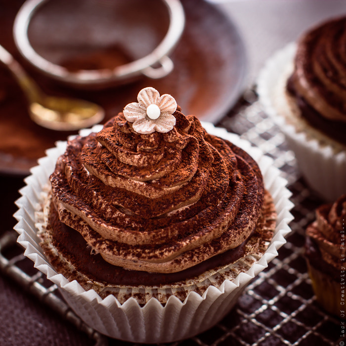 Chocolate cupcake by crazy cake on 500px.com