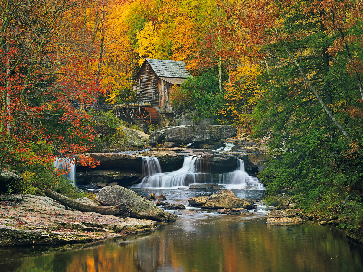 Photograph Glade Creek Mill by Ed Cooley on 500px